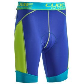 Cube AM Cykelbyxor Herr blå